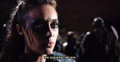 The 100 CW - Alycia Debnam Carey - Commander Lexa Lexa The 100, Clarke And Lexa, The 100 Clexa, The 100 Cast, The 100 Show, The Cw Shows, Tv Shows, Steampunk Makeup, Commander Lexa