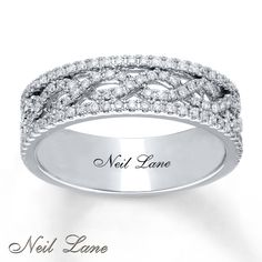 Neil Lane Designs Ring 1/2 ct tw Diamonds 14K White Gold