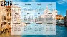 2018 Word Calendar  http://socialebuzz.com/2018-calendar-word/