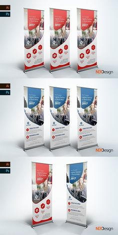 Business Rollup Banner - nex #abstract