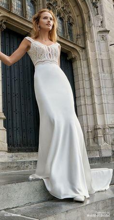 Bruges by Solo Merav 2016 Wedding Dress
