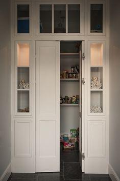 Pantry with Bi Fold Doors