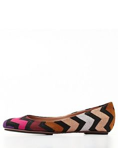 Missoni flats...only $432. For when I win the lottery