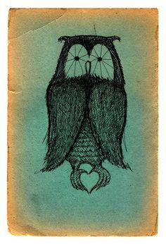 'Owl Heart' by Jon Carling