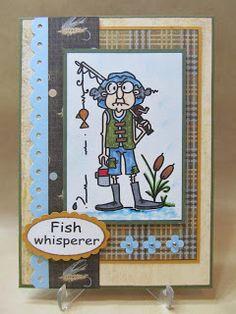 Savvy Handmade Cards: Fish Whisperer Card