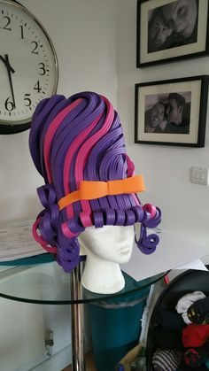 1 of 8 foam ugly sisters wigs . . . 7 to go #pantomime