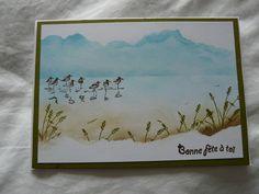 Wetlands stamp I Card, Card Making, Stamp, How To Make, Handmade, Decor, Decoration, Hand Made, Decorating
