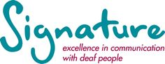 Signature are the leading provider of British Sign Language (BSL) and other Deaf and Deafblind qualifications in the UK Learn Sign Language, British Sign Language, Learn To Sign, Deaf Children, Deaf People, Bsl, Visual Aids, Bullying