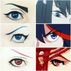 眼妝變化 Cosplay Tutorial, Cosplay Diy, Cosplay Makeup, Costume Makeup, Best Cosplay, Cosplay Costumes, Goth Make Up, Eye Make Up, Anime Makeup