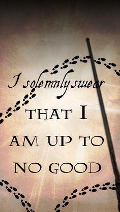 Juro solemnemente que mis intenciones no son buenas