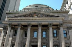 SIGHTS. Bank Of Montreal (banque De Montreal). The oldest bank in Canada is housed in a lavish architectural landmark that is beautiful both inside and out..
