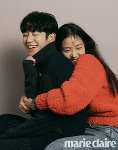 Jung Hae In & Kim Go Eun for Marie Claire Korea September Photographed by Hong Jang Hyun Korean Wedding Photography, Couple Photography, Photography Poses, Pre Wedding Poses, Pre Wedding Photoshoot, Couple Posing, Couple Shoot, Korean Celebrities, Korean Actors