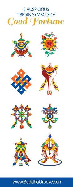 Buddhist Eight Auspicious Symbols The Eight Auspicious Symbols Of