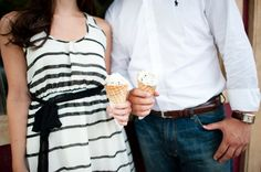 Marietta Square Engagement Session by The Studio B Photography