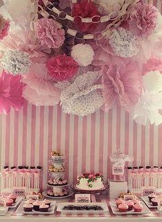 Pink kager