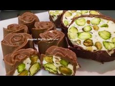 طريقة تحضير نوكا ساده وبالشوكولا ولا ألذ من هيك - YouTube