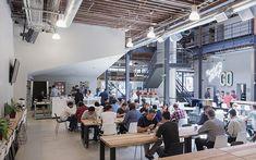 Pinterest ( ピンタレスト )、工場をリノベした新本社デザイン in サンフランシスコ | VIP WORKS