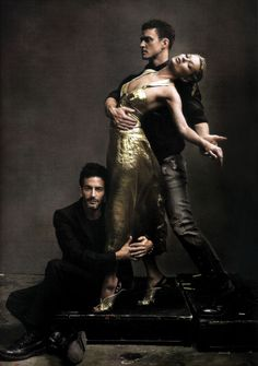 Kate Moss, Jusin Timberlake and Marc Jacobs by Annie Leibovitz.