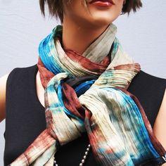 Spring scarf ID38 par MIRIMIRIFASHION sur Etsy, $15,00