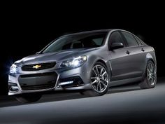 7. Chevrolet SS The new top sedan at Chevy is a sporty aggressively styled rear-drive model that comes by way of General Motors' Holden subsidiary in Australia (a lesser-equipped version is sold to law enforcement departments as the Caprice Police Patrol Vehicle). In homage to classic SS-designated models from the 1960's, it burns rubber with the 2013 Corvette's 6.2-liter 415-horsepower small-block V8 engine, and can sprint from 0-60 mph in around five seconds.