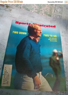 Fall Clearance Sports Illustrated Magazine June 26 1972 by Booth58