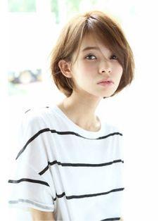 2015年春夏流行♡大人かわいいショートボブスタイル<髪型/ヘアカタログ> - NAVER まとめ