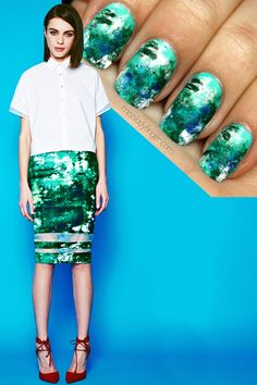 From the moment I saw this Nonoo look from the Pre-Fall '14 collection, I haven't been able to get it out of my mind. The jolt of turquoise color styled with a crisp menswear tee… it all just speaks to me. No explanation of the collection was necessary, but then I discovered that Misha Nonoo […]