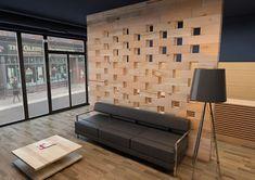 Craftwand® - store front design by craftwand Display Shelves, Shelving, Shop House Plans, Shop Front Design, Shop Interior Design, Catalogue, Home Staging, Flat Design, Stores