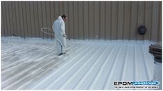 EPDM Coatings provides Liquid EPDM Rubber and EPDM Liquid Roof coatings for roof leaks repair. EPDM is a Cost Effective and Do It yourself Solution by EPDM Coatings for residential and commercial roofing projects. Elastomeric Roof Coating, Liquid Roof, Epdm Roofing, Roof Leak Repair, Roof Sealant, Roofing Supplies, Commercial Roofing, Cool Roof, Roof Covering