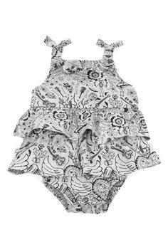 0cae6bcc25cd Mex Rock Print Tiered Playsuit Tiered playsuit in our very own mex rock  print. Funky Baby ClothesBest ...