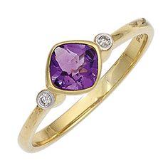 Dreambase Damen-Ring 1 Amethyst 8 Karat (333) Gelbgold 2 ... https://www.amazon.de/dp/B00N5BJX8Q/?m=A37R2BYHN7XPNV