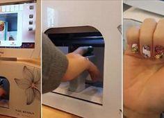 NapadyNavody.sk | Rýchly a fantastický nepečený banánový dezert - príprava trvá 15 minút. Nail Salon Supplies, Nail Printer, Cool Inventions, Vending Machine, Nail Tutorials, Manicure And Pedicure, Beauty Nails, Fun Nails, You Nailed It