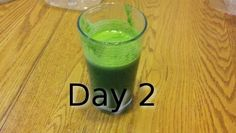 Day 2 of the juice diet