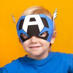 Blog_Paper_Toy_Avengers_Masks_Captain_America