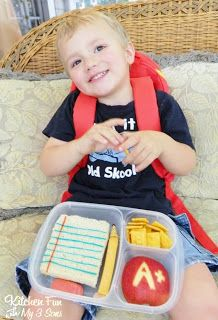 Kitchen Fun With My 3 Sons: Back to School Bento Lunch