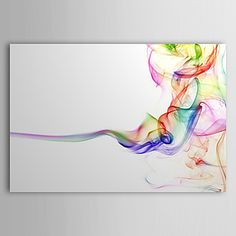 Hand-Painted Abstract One Panel Canvas Oil Painting For Home Decoration 2016 - $64.99