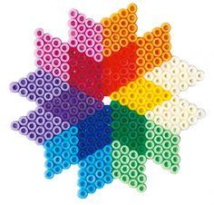 Colorful design  Hama mini beads - Hama 5511