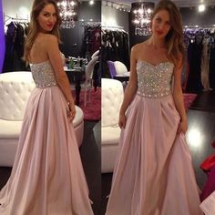Shinning Prom Dresses Backless Evening Wear Sweetheart Off Shoulder Sweep Train Beaded Sequin High Fashion Party Formal Dress Cocktail Gown 2015 Dresses Affordable Prom Dresses From Yoyobridal, $114.82| Dhgate.Com