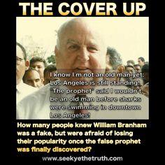 William Marrion Branham The Cover Up