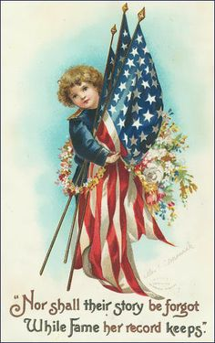 Vintage 4th of July postcards | 4th July..Independence Day