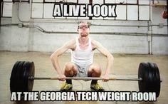 Georgia Tech weight room