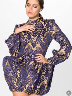 https://www.facebook.com/pages/Gabriela-Hezner-Designs/173112606072708?fref=ts    Print dress, prom  fot.Justyna stworzyńska