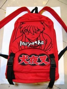 Inuyasha Bag Backpack Cosplay