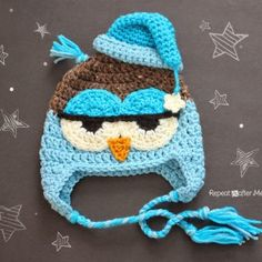 By popular demand, I am happy to present the crochet pattern for larger owl…