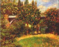 Railway Bridge at Chatou - Pierre-Auguste Renoir