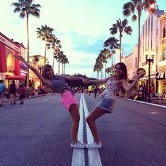 Fim de tarde na Universal Studios