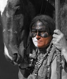 Warrior and friend, via Flickr.
