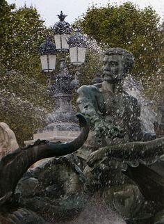 Le Triomphe de la République, Monument aux Girondins, place des Quinconces, Bordeaux, Gironde, Aquitaine, France.   Flickr: partage de phot...
