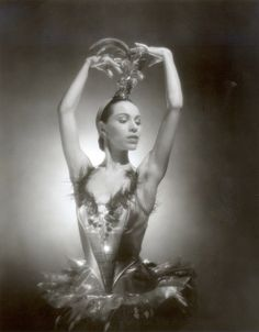 Ballerina Maria Tallchief as the Firebird. Ms Tallchief died April 11, 2013, at the age of 88. She was an internationally acclaimed ballerina and a trailblazer for Native American dancers.