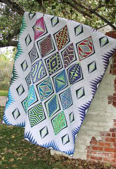 Empire Place in Tonga Batiks - Sassafras Lane Designs Picnic Blanket, Outdoor Blanket, Locker Hooking, Foundation Piecing, Contemporary Quilts, Tonga, Empire, Projects To Try, Sewing